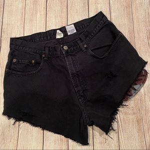 {Lucky Brand} Black High Waisted Sneakers